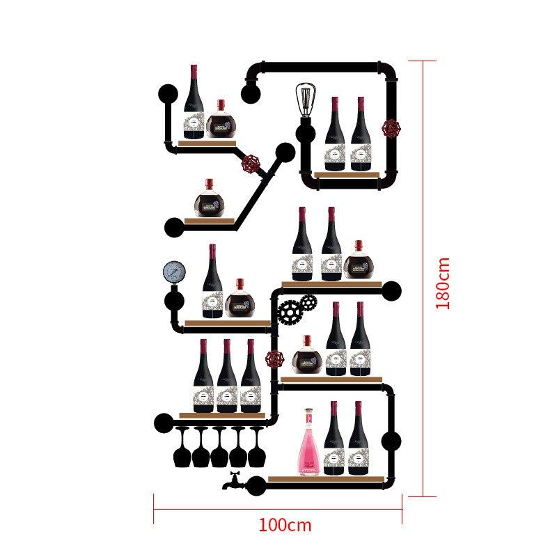 CF3  European-style Wine Rack Wine Bottle Display Stand Rack Organizer High Qualit Mimimalist Glassware Organizer CF