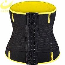 لازوغ حار عرق حزام نيوبرين ساونا عرق حزام مدرب خصر حزام البطن تحكم Cincher محدد شكل الجسم سليم ملابس داخلية تجريب