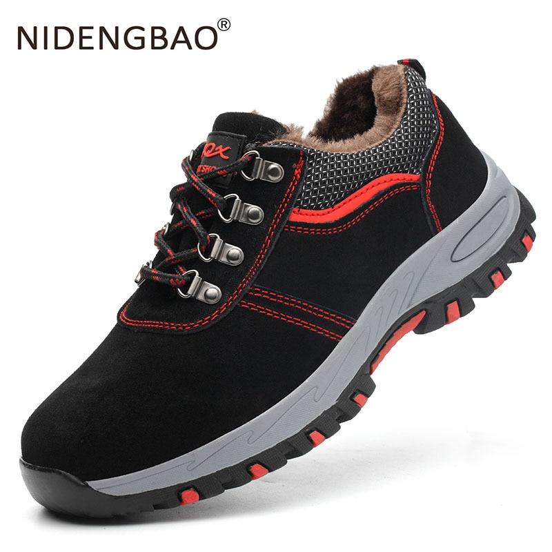 Im freien Männer Wanderschuhe Atmungs Training Frauen Männer Turnschuhe Anti-Slip Trekking Schuhe Arbeits Sicherheit Schuhe Für Männer Größe 35-46