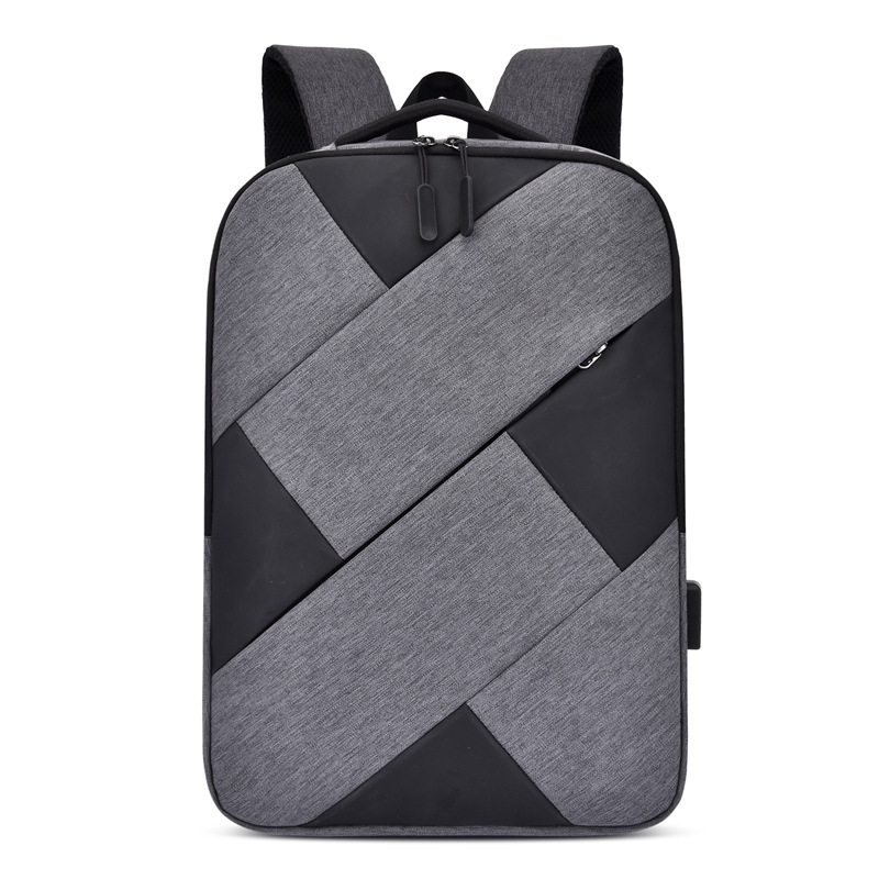 Men's Nylon Waterproof Laptop Backpack Large Capacity Casual Travel Backpack USB Charging Backpacks For Teenagers School Bags