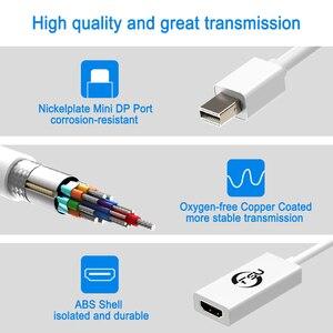 Image 4 - FSU wysokiej jakości Port wyświetlacza Thunderbolt Mini DisplayPort kabel adaptera DP do HDMI dla Apple Mac Macbook Pro Air
