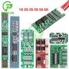 1S 2S 3S 4S 5S 6S 2.5A 3A 15A 25A 30A ליתיום ליתיום סוללה 18650 מטען הגנת לוח 3.7V 7.4V PCB BMS עבור Lipo סוללה
