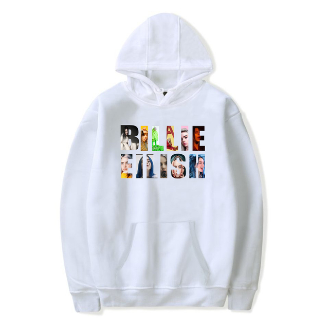 BILLIE EILISH PHOTOS HOODIE (6 VARIAN)