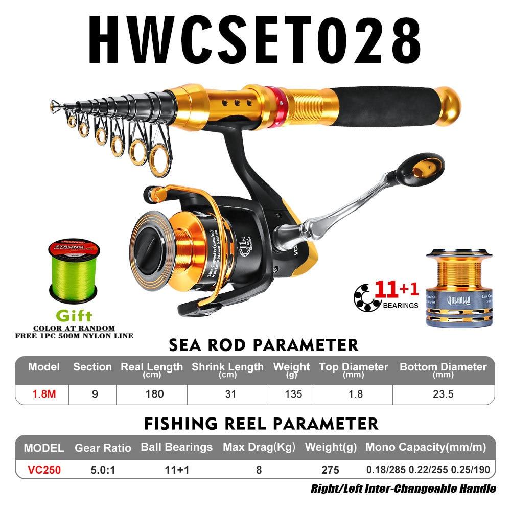 de pesca e linha de peixes kit