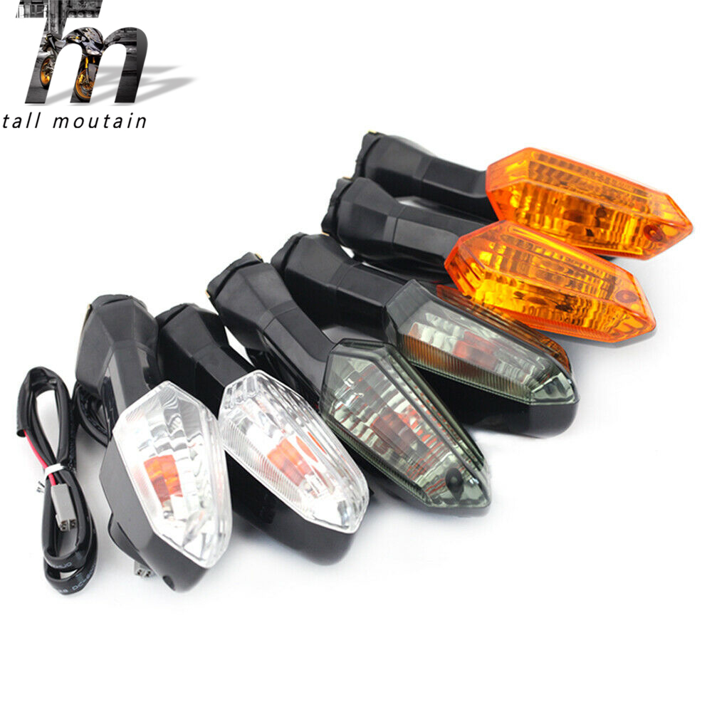 For KAWASAKI Z125 Z250 Z300 Z750 Z800 Z1000 VERSYS 650 1000 ER-6N ZRX1200 Motorcycle Turn Signal Indicator Light Lamp Lens