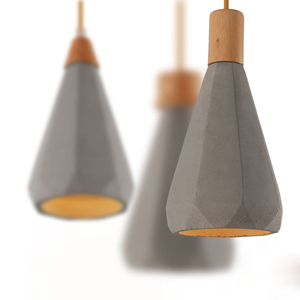 Image 5 - Straight cylinder cement chandelier lampshade silicone mold restaurant bar concrete gypsum resin pendent lamp handicraft mold