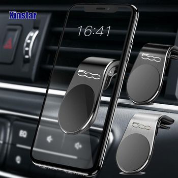 Car phone holder sticker styling Automobile Accessories for fiat 500