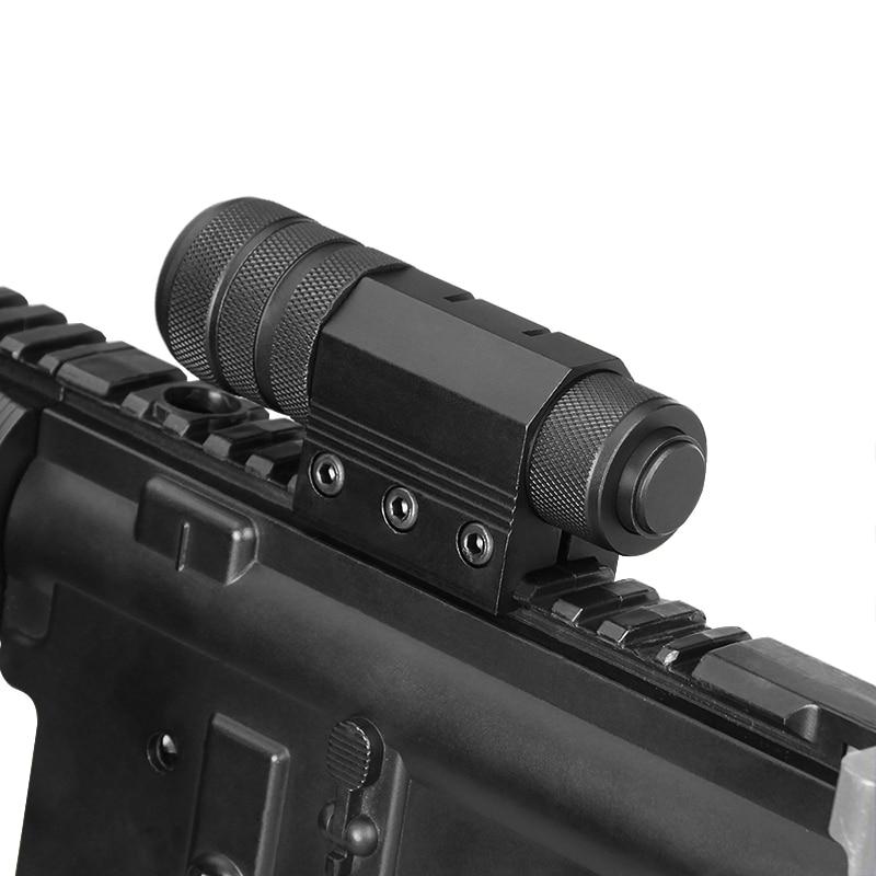 Visão laser vermelho tático com montagem para tiro caça escopo