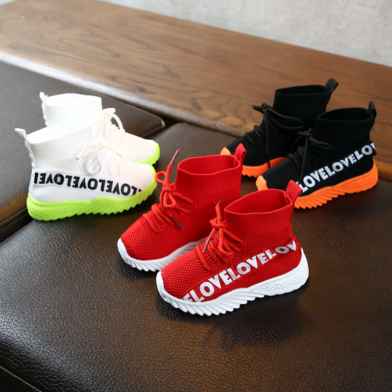 Toddler Infant Shoes 2019 Baby Girls Boys Casual Shoes Breathable Non-Slip Outdoor Kids Soft Bottom Mesh Shoes Child Sneakers