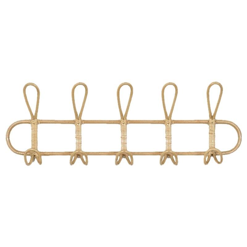 Хит, большие настенные крючки из ротанга, крючок для одежды, крючок для вязания крючком, органайзер, вешалки, декор для домашнего декора