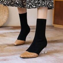Женские ботинки из натуральной кожи sophitina модные сапоги