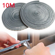 10M Window Brush Seal Strip Self Adhesive Weather Stripping Door Sweep Soundproof Dustproof Window Hardware Tool