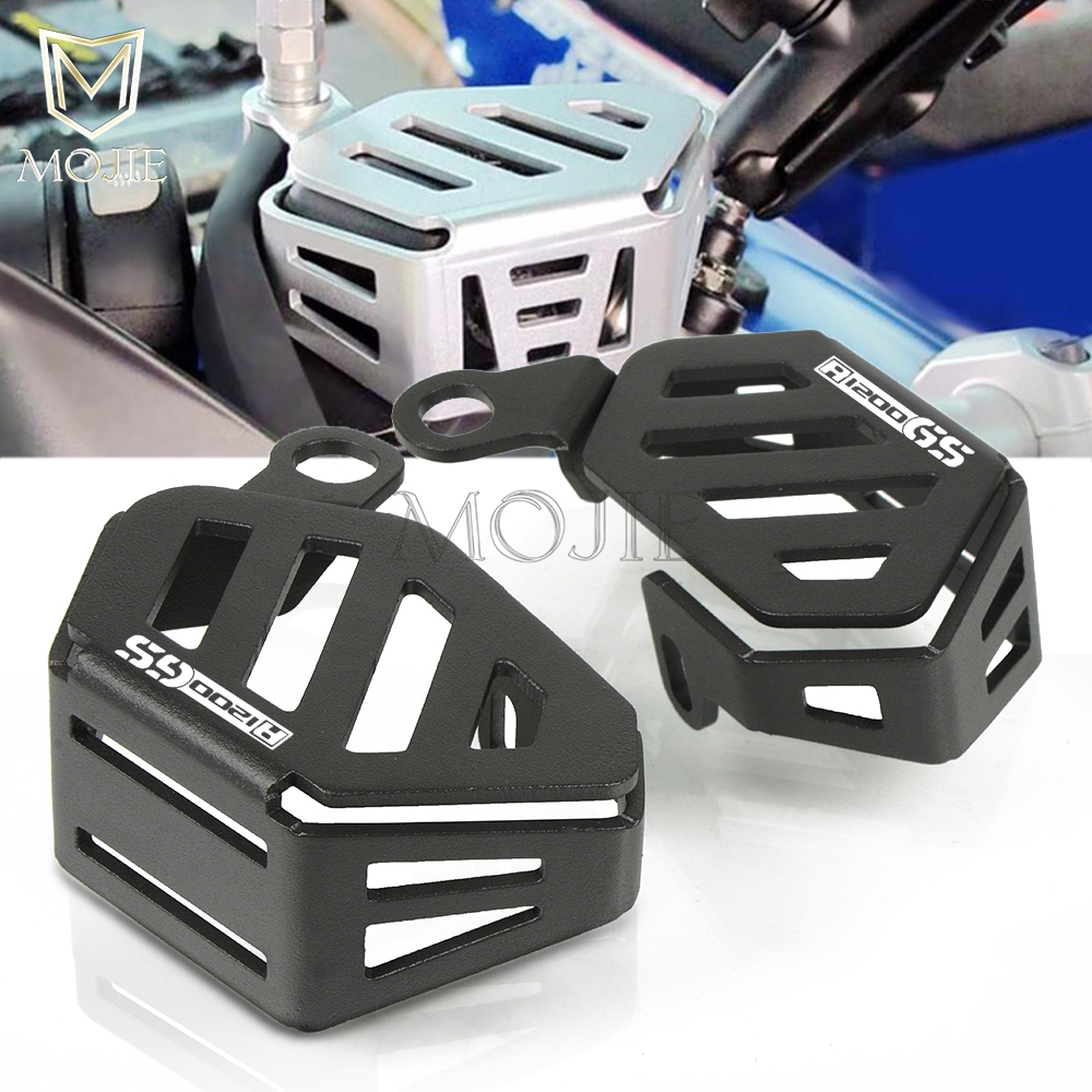 Motorcycle <font><b>Accessories</b></font> Front Brake Clutch Oil Cup Cover Guard Protector For <font><b>BMW</b></font> <font><b>R1200GS</b></font> <font><b>LC</b></font>/<font><b>ADV</b></font> Adventure R1200 GS 1200 2013-2017 image