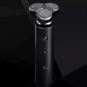 Image 5 - Xiaomi Mijia Electric Shaver S500 IPX7 Waterproof Men Razor Beard Trimmer 3 Head Dry Wet Dual Blade Comfy Clean With LED Display