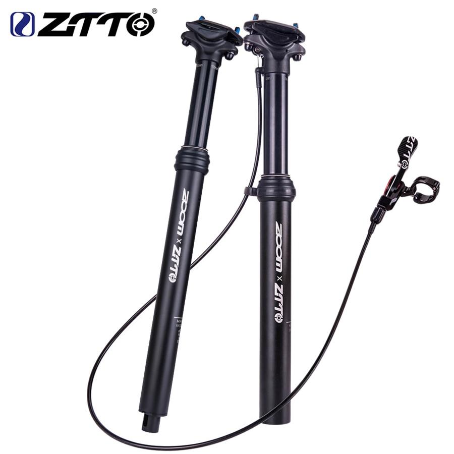 1pcs ZTTO Adjustable Bike Metal Mechanical Seatpost Dropper Remote Lever Shifter