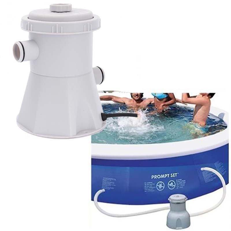 Electric Swimming Pool Filter Pump Durable And Reusable Practical Swimming Pool Filter Water Purifier Easy To Install