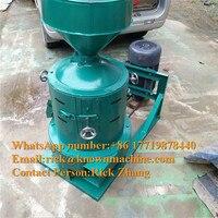 KN-200 comercial máquina de casca de aveia/máquina de casca de trigo  máquina da série do moinho de descascador de milho