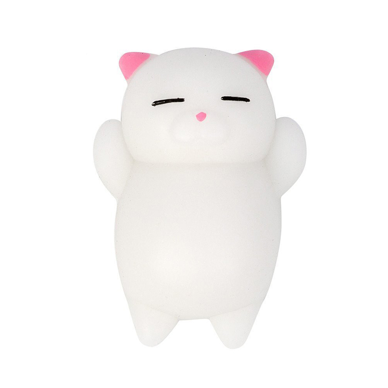 1Pcs The Popular Cute Mini Cartoon Cat Climbing Toy Can Relieve Stress, Soft Mini Animal Squeeze Toy Multi-color Choice Toy Gift