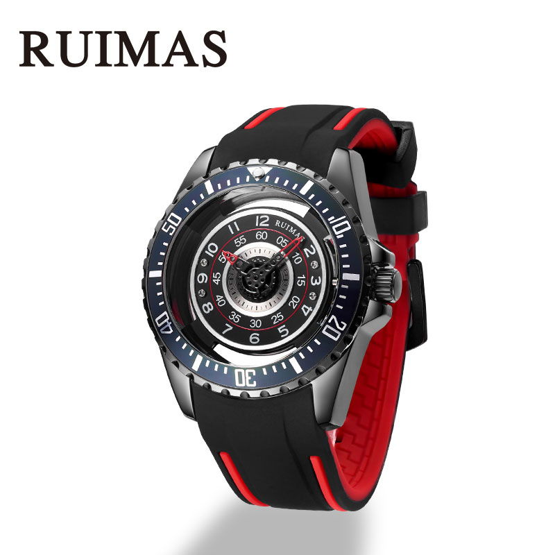 Fashion Mens Sport Watch Military Quality A Silicone Strap Stainless Waterproof Quartz Wristwatch Luxury Top Brand Dress Reloj