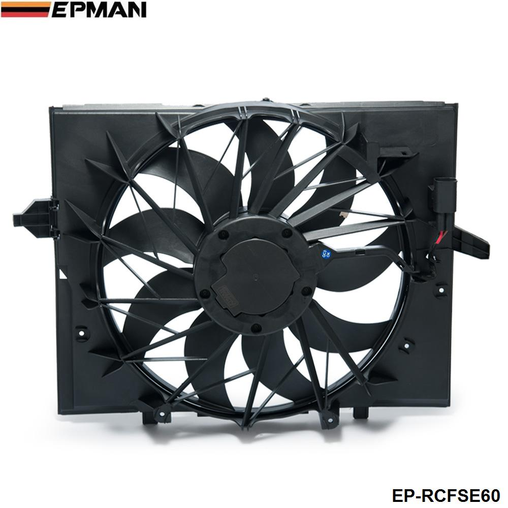 Sport Radiator <font><b>Cooling</b></font> <font><b>Fan</b></font> Brushless <font><b>Motor</b></font> 17427543282 For <font><b>BMW</b></font> 5 Series 528i 528 645 525 530 Sedan E60 EP-RCFSE60 image