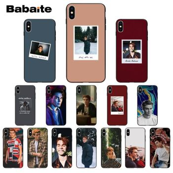 Babaite TV Riverdale Archie Andrews Keneti James Apa Silicone Phone Case for iPhone 11 pro XS MAX 8 7 6 6S Plus X 5 5S SE XR image