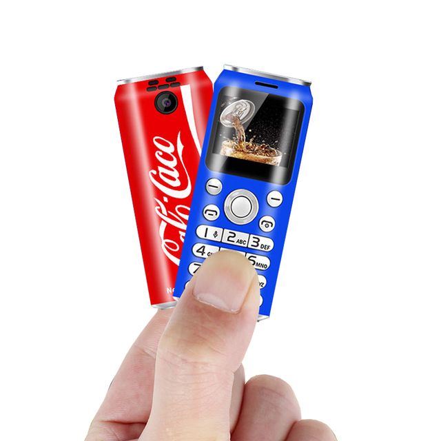 New Small Mini phone Russian push button telephone unlocked cheap cell phone Dual Sim gsm mobile phones K8