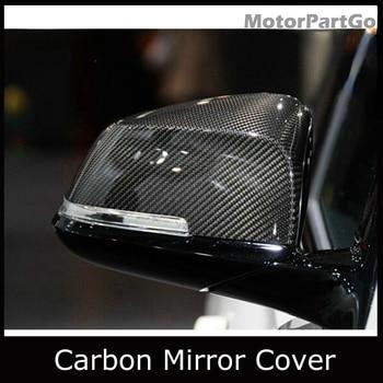 Real Crabon Fiber Mirror Cover Exchange original 1 pair for BMW 1 2 3 4 X Series F20  F21 F22 F30 F31 F35 GT F34 F32 F33 F36 E84 1