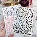 Модные красивые натуральные пикантные леопардовые наклейка для маникюра 3D стерео виниловые наклейки на стену с рисунком
