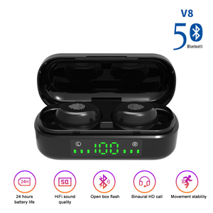Image 2 - TWS Wireless Bluetooth EarPhone LED Display 5.0 Wireless Earbuds Stereo Headsets With Mic Handsfree Earbuds Airbuds Earphones