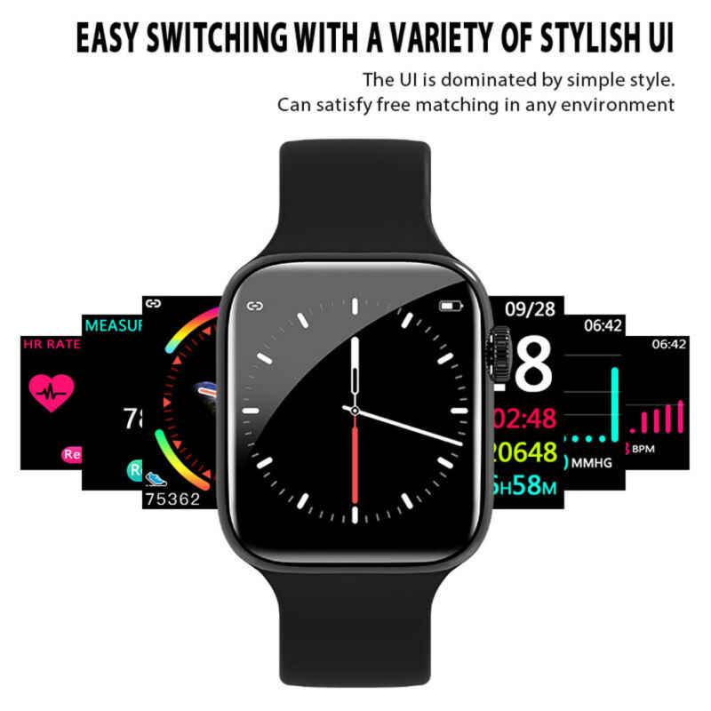 Dernière montre de sport de natation Bracelet intelligent W43 montre intelligente série 3 Style Bluetooth 44mm moniteur de fréquence cardiaque pour IOS Android