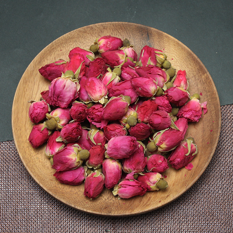 China Natural Roses Flower Tea Chinese Organic Red Rose Healthy Tea Dried Flowers Buds For Beauty Health Food