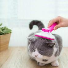 Самоочищающаяся расческа для кошек удаления волос собак плавающие