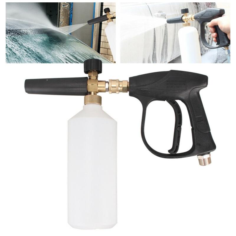 Pulvérisateur de bouteille de savon de canon de Lance de mousse de neige pour le Jet 1/4