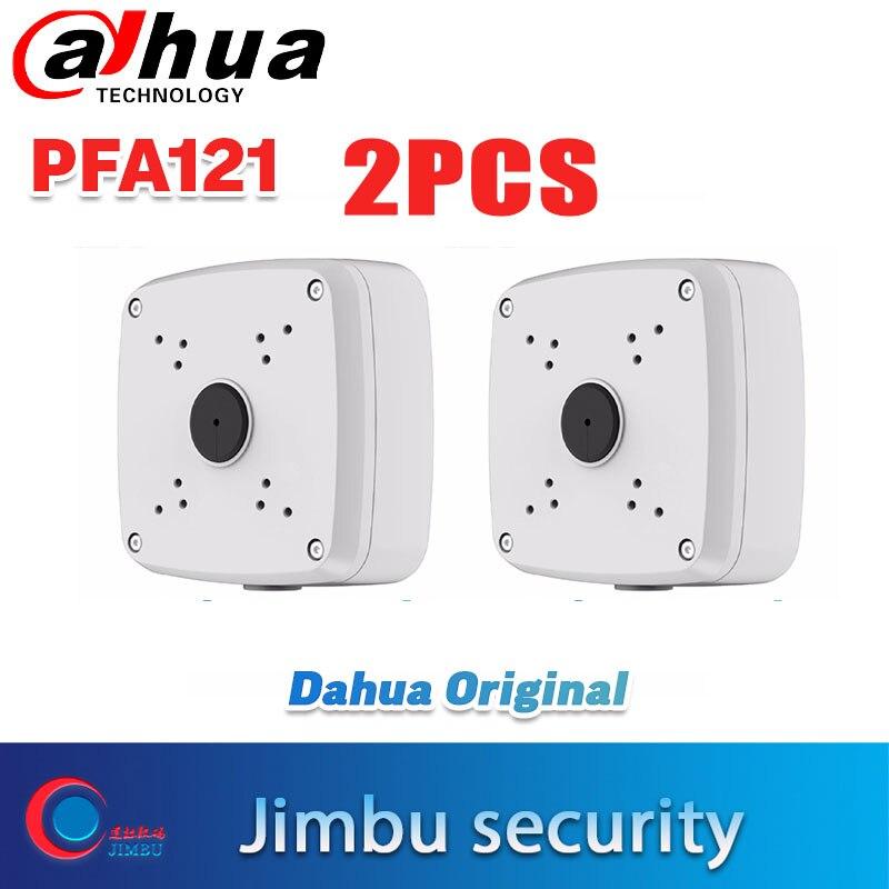 DAHUA Mount IP Bullet Camera Brackets Junction Box PFA121 2PCS/lot Support IP Camera IPC-HDW4631C-A CCTV Accessories Camera