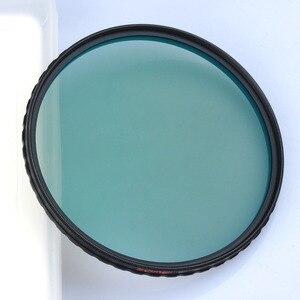 Image 4 - ZOMEI HD 光学ガラス CPL フィルタースリムマルチコート円偏光偏光レンズフィルター 40.5/49/52 /55/58/62/67/72/77/82 ミリメートル