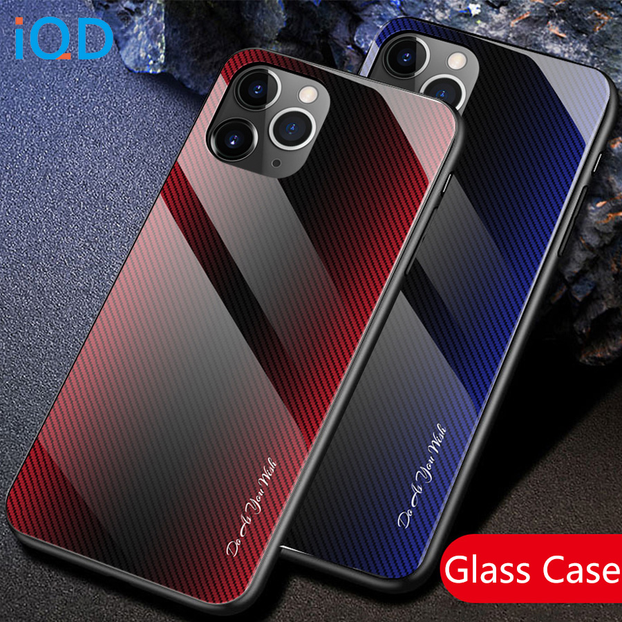Case Texture Tempered Gl Back Cover