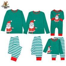 Family Matching Outfits Jumpsuit Christmas-Pajamas Baby Clohting Men Women