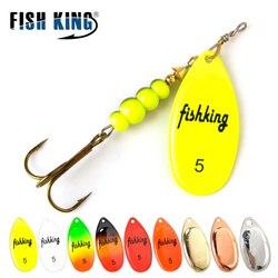 Рыбы король вертушечная наживка 3,9g 4,6g 7,4g 10,8g 15g ложка приманка