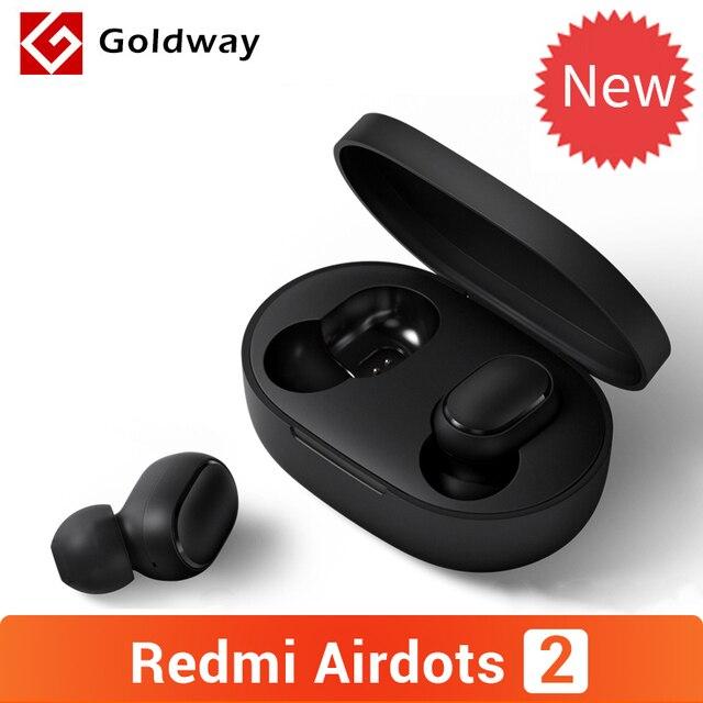 מקורי Xiaomi Redmi AirDots 2 אלחוטי Bluetooth 5.0 אוזניות סטריאו באוזן בס אוזניות עם מיקרופון שמאל ימין נמוך פיגור מצב