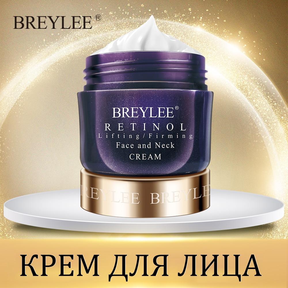 Breylee Retinol Firming Face Cream Lifting Anti-aging Remove Wrinkles Night Day Cream Moisturizing Facial Serum Facial Skin Care
