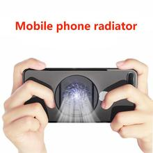 Foldable Mobile Phone Cooler Cooling Support Holder Bracket with Fan Radiator for iPhone Samsung Huawei Xiaomi Smartphone