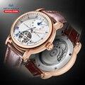Часы с Чайкой автоматические механические часы 40 мм с самообмоткой мужские часы люкс бренд aaa часы прозрачные 819.11.6040