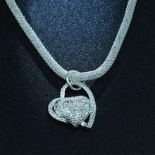 Carofeez роскошное модное ожерелье в форме сердца для женщин