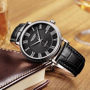 Image 4 - NAKZEN Men Classic Automatic Mechanical Watches Brand Luxury Man Stainless Steel Wristwatch Clock Relogio Masculino Miyota 9015