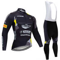 Invierno 2020 SAN MARCO Ciclismo JERSEY 20D bicicleta pantalones conjunto Ropa Ciclismo grueso polar térmico pro Ciclismo chaqueta Maillot wear