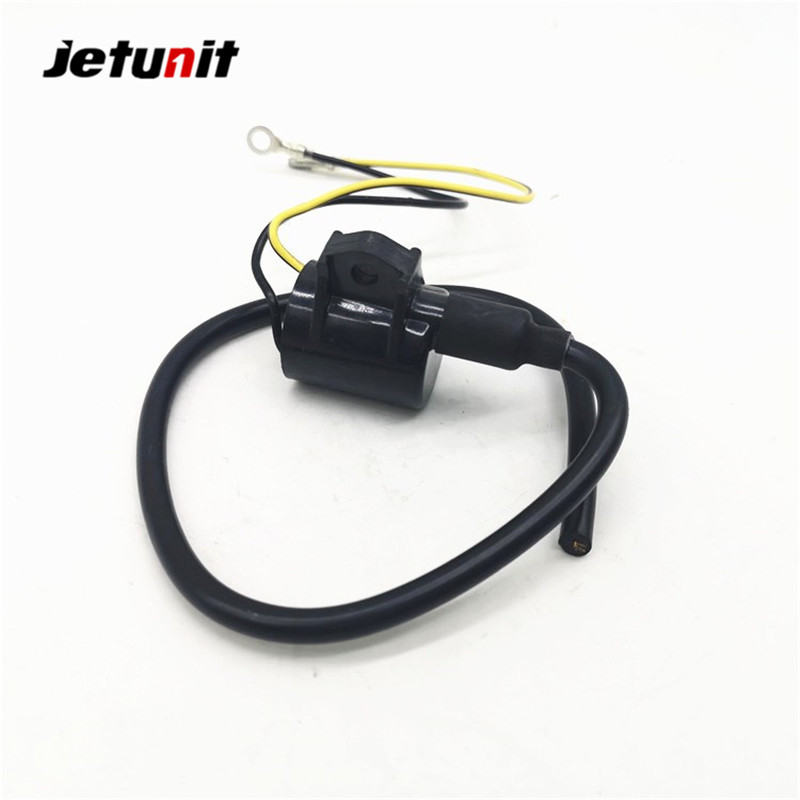 Jetunit Parts Outboard Ignition Coil Assy For Yamaha 6L2-85570-10-00 25HP Marine Eelectrical