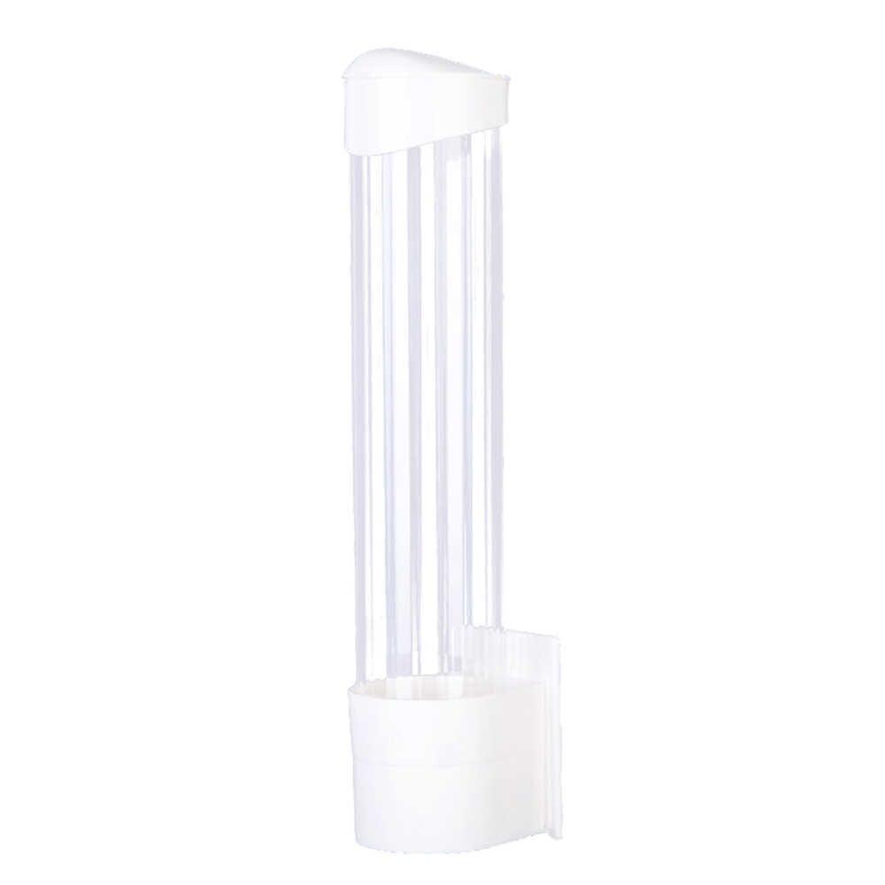 70 כוסות נייר כוס Dispenser פלסטיק כוסות בעל חד פעמי אוטומטי מחזיק Dustproof משלוח ניקוב נייר מתלה כוס