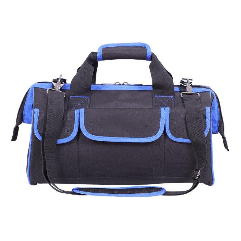 Multi-Function Tool Bag Portable Shoulder Dual-Use Tool Bag Oxford Cloth Waterproof Tool Bag Electrician Tool Bag Storage Bag