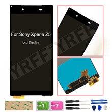 5.2 LCD עבור Sony Xperia Z5 LCD תצוגת מסך מגע Digitizer הרכבה E6653 E6603 E6633 LCD מסך
