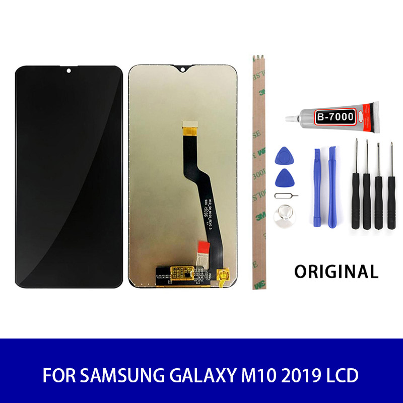 ORIGINAL 6.22'' <font><b>LCD</b></font> For <font><b>SAMSUNG</b></font> Galaxy <font><b>M10</b></font> 2019 <font><b>LCD</b></font> Display Touch Screen Panel Digitizer Assembly Screen Replacement Parts image